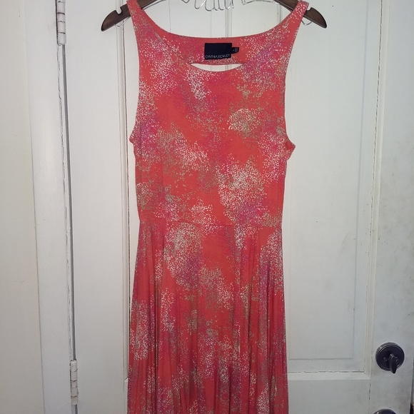 Cynthia Rowley Dresses & Skirts - Coral pink multicolored dress
